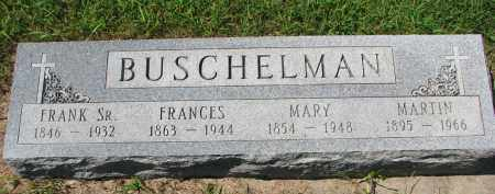 BUSCHELMAN, FRANK SR. - Cedar County, Nebraska | FRANK SR. BUSCHELMAN - Nebraska Gravestone Photos