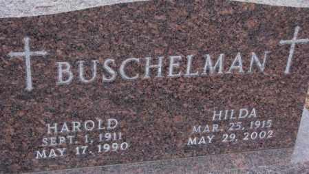 BUSCHELMAN, HILDA - Cedar County, Nebraska | HILDA BUSCHELMAN - Nebraska Gravestone Photos