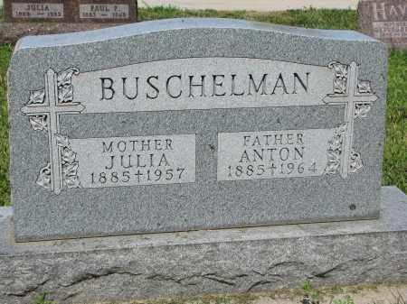 BUSCHELMAN, JULIA - Cedar County, Nebraska | JULIA BUSCHELMAN - Nebraska Gravestone Photos