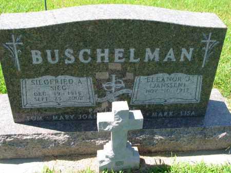 BUSCHELMAN, SIEGFRIED A. - Cedar County, Nebraska | SIEGFRIED A. BUSCHELMAN - Nebraska Gravestone Photos