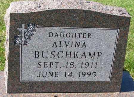 BUSCHKAMP, ALVINA - Cedar County, Nebraska | ALVINA BUSCHKAMP - Nebraska Gravestone Photos