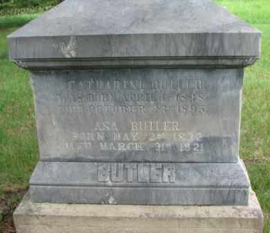 BUTLER, CATHARINE - Cedar County, Nebraska   CATHARINE BUTLER - Nebraska Gravestone Photos