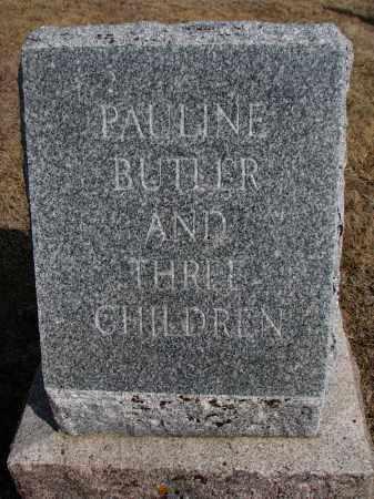 BUTLER, PAULINE - Cedar County, Nebraska | PAULINE BUTLER - Nebraska Gravestone Photos