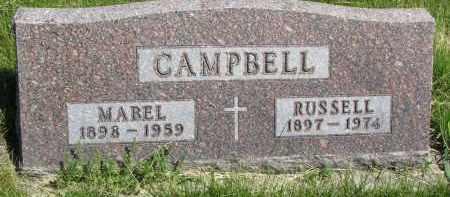 CAMPBELL, MABEL - Cedar County, Nebraska | MABEL CAMPBELL - Nebraska Gravestone Photos