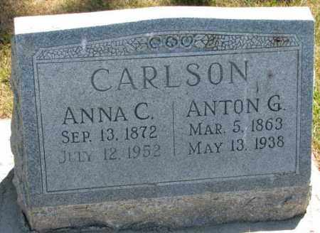 CARLSON, ANNA C. - Cedar County, Nebraska | ANNA C. CARLSON - Nebraska Gravestone Photos