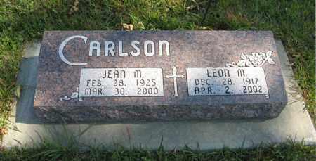 CARLSON, LEON M. - Cedar County, Nebraska | LEON M. CARLSON - Nebraska Gravestone Photos