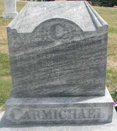 CARMICHAEL, JAMES C. - Cedar County, Nebraska | JAMES C. CARMICHAEL - Nebraska Gravestone Photos