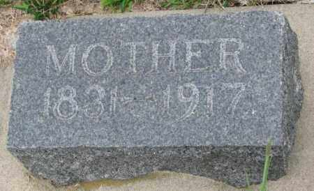 CARSTENS, MOTHER - Cedar County, Nebraska | MOTHER CARSTENS - Nebraska Gravestone Photos