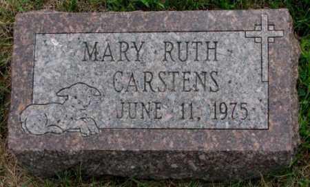 CARSTENS, MARY RUTH - Cedar County, Nebraska   MARY RUTH CARSTENS - Nebraska Gravestone Photos