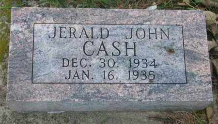 CASH, JERALD JOHN - Cedar County, Nebraska | JERALD JOHN CASH - Nebraska Gravestone Photos