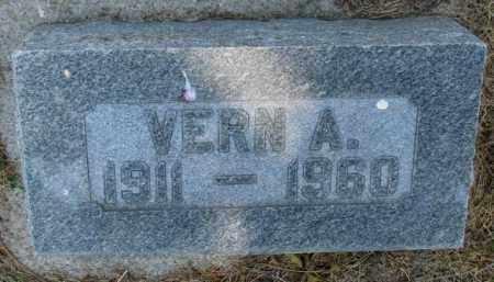 CHANEY, VERN A. - Cedar County, Nebraska | VERN A. CHANEY - Nebraska Gravestone Photos