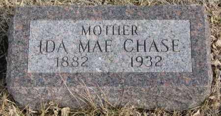 CHASE, IDA MAE - Cedar County, Nebraska | IDA MAE CHASE - Nebraska Gravestone Photos