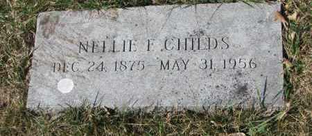 CHILDS, NELLIE F. - Cedar County, Nebraska | NELLIE F. CHILDS - Nebraska Gravestone Photos