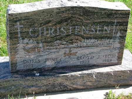 "CHRISTENSEN, LLOYD J. ""BOB"" - Cedar County, Nebraska   LLOYD J. ""BOB"" CHRISTENSEN - Nebraska Gravestone Photos"