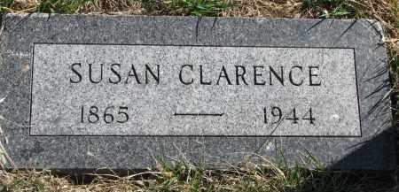 CLARENCE, SUSAN - Cedar County, Nebraska | SUSAN CLARENCE - Nebraska Gravestone Photos