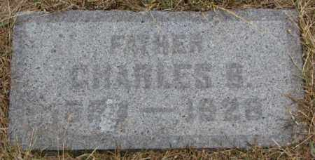 CLARK, CHARLES B. - Cedar County, Nebraska   CHARLES B. CLARK - Nebraska Gravestone Photos