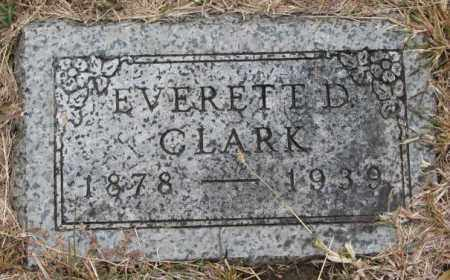 CLARK, EVERETT D. - Cedar County, Nebraska | EVERETT D. CLARK - Nebraska Gravestone Photos