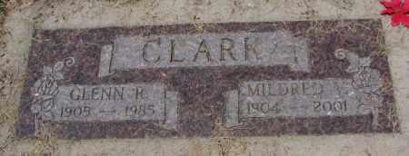 CLARK, MILDRED V. - Cedar County, Nebraska | MILDRED V. CLARK - Nebraska Gravestone Photos