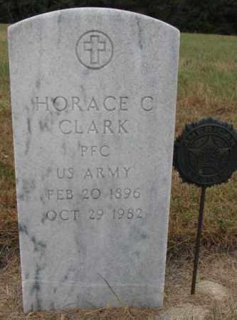 CLARK, HORACE C. - Cedar County, Nebraska | HORACE C. CLARK - Nebraska Gravestone Photos