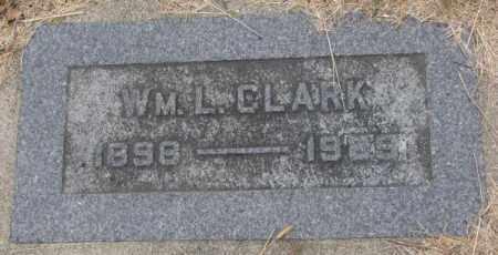 CLARK, WM. L. - Cedar County, Nebraska | WM. L. CLARK - Nebraska Gravestone Photos