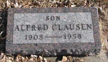 CLAUSEN, ALFRED - Cedar County, Nebraska | ALFRED CLAUSEN - Nebraska Gravestone Photos