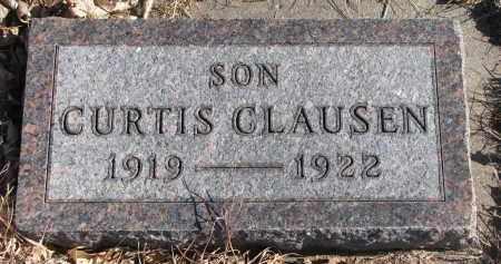 CLAUSEN, CURTIS - Cedar County, Nebraska | CURTIS CLAUSEN - Nebraska Gravestone Photos