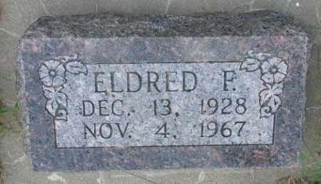 CLEVELAND, ELDRED F. - Cedar County, Nebraska | ELDRED F. CLEVELAND - Nebraska Gravestone Photos