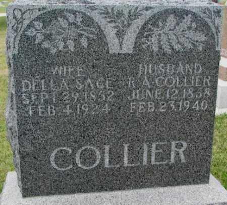 COLLIER, R.A. - Cedar County, Nebraska | R.A. COLLIER - Nebraska Gravestone Photos