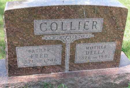 COLLIER, DELLA - Cedar County, Nebraska | DELLA COLLIER - Nebraska Gravestone Photos