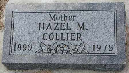 COLLIER, HAZEL M. - Cedar County, Nebraska | HAZEL M. COLLIER - Nebraska Gravestone Photos