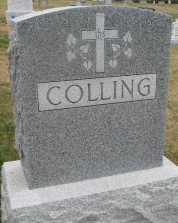 COLLING, FAMILY STONE - Cedar County, Nebraska | FAMILY STONE COLLING - Nebraska Gravestone Photos