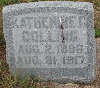 COLLING, KATHERINE C. - Cedar County, Nebraska | KATHERINE C. COLLING - Nebraska Gravestone Photos