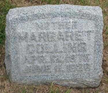 COLLING, MARGARET - Cedar County, Nebraska   MARGARET COLLING - Nebraska Gravestone Photos