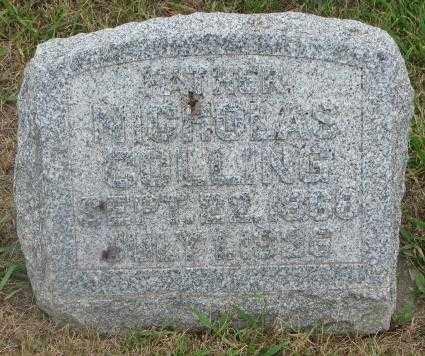 COLLING, NICHOLAS - Cedar County, Nebraska | NICHOLAS COLLING - Nebraska Gravestone Photos