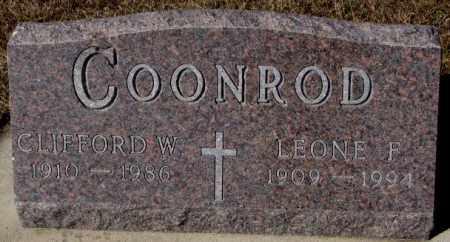 COONROD, CLIFFORD W. - Cedar County, Nebraska   CLIFFORD W. COONROD - Nebraska Gravestone Photos