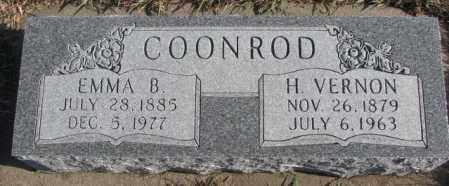 COONROD, EMMA B. - Cedar County, Nebraska | EMMA B. COONROD - Nebraska Gravestone Photos