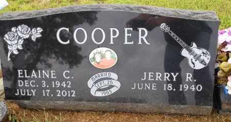 COOPER, JERRY R. - Cedar County, Nebraska | JERRY R. COOPER - Nebraska Gravestone Photos