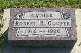COOPER, ROBERT R. - Cedar County, Nebraska | ROBERT R. COOPER - Nebraska Gravestone Photos