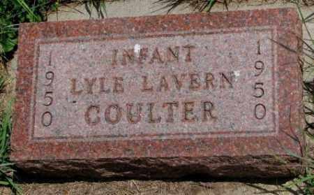 COULTER, LYLE LAVERN - Cedar County, Nebraska | LYLE LAVERN COULTER - Nebraska Gravestone Photos