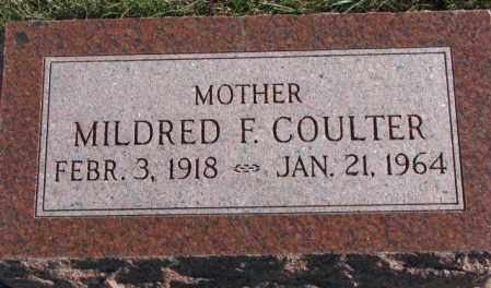 COULTER, MILDRED F. - Cedar County, Nebraska | MILDRED F. COULTER - Nebraska Gravestone Photos
