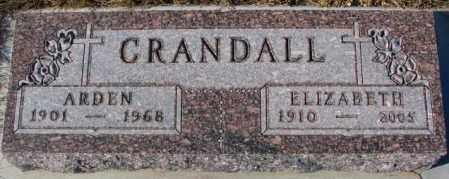 CRANDALL, ARDEN - Cedar County, Nebraska | ARDEN CRANDALL - Nebraska Gravestone Photos