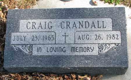 CRANDALL, CRAIG - Cedar County, Nebraska | CRAIG CRANDALL - Nebraska Gravestone Photos