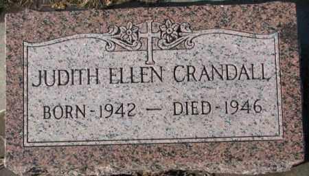 CRANDALL, JUDITH ELLEN - Cedar County, Nebraska | JUDITH ELLEN CRANDALL - Nebraska Gravestone Photos