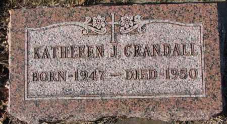 CRANDALL, KATHLEEN J. - Cedar County, Nebraska | KATHLEEN J. CRANDALL - Nebraska Gravestone Photos