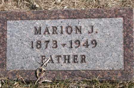 CRANDALL, MARION J. - Cedar County, Nebraska | MARION J. CRANDALL - Nebraska Gravestone Photos