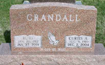 CRANDALL, CURTIS A - Cedar County, Nebraska | CURTIS A CRANDALL - Nebraska Gravestone Photos