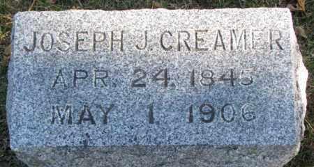 CREAMER, JOSEPH J. - Cedar County, Nebraska | JOSEPH J. CREAMER - Nebraska Gravestone Photos