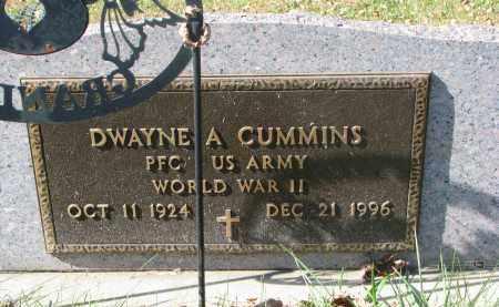 CUMMINS, DWAYNE A. (WW II) - Cedar County, Nebraska | DWAYNE A. (WW II) CUMMINS - Nebraska Gravestone Photos