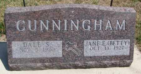 "CUNNINGHAM, JANE E. ""BETTY"" - Cedar County, Nebraska | JANE E. ""BETTY"" CUNNINGHAM - Nebraska Gravestone Photos"