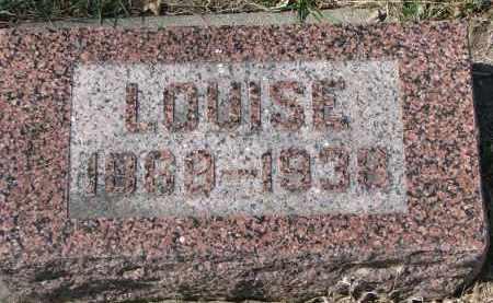 DALE, LOUISE - Cedar County, Nebraska | LOUISE DALE - Nebraska Gravestone Photos